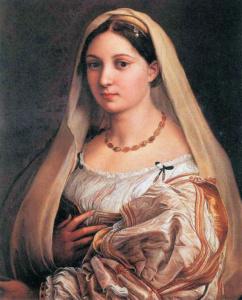 La Velata (femme voilée), Raphael. (Galerie Palatine, Palazzo Pitti)