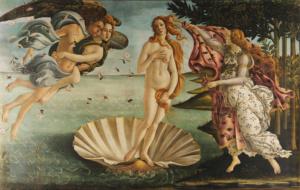 La Naissance de Vénus, Botticelli (Galerie des Offices)